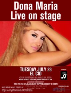 Dona Maria Live on EL CID stage 23rd of July 2019