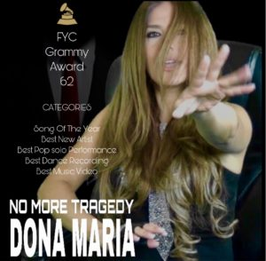 Dona Maria No More Tragedy FYC Grammy Awards 2019/2020